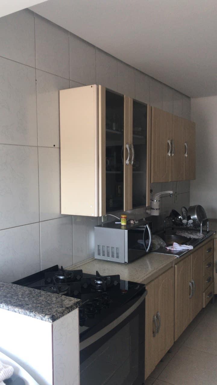 Lindo e aconchegante apartamento