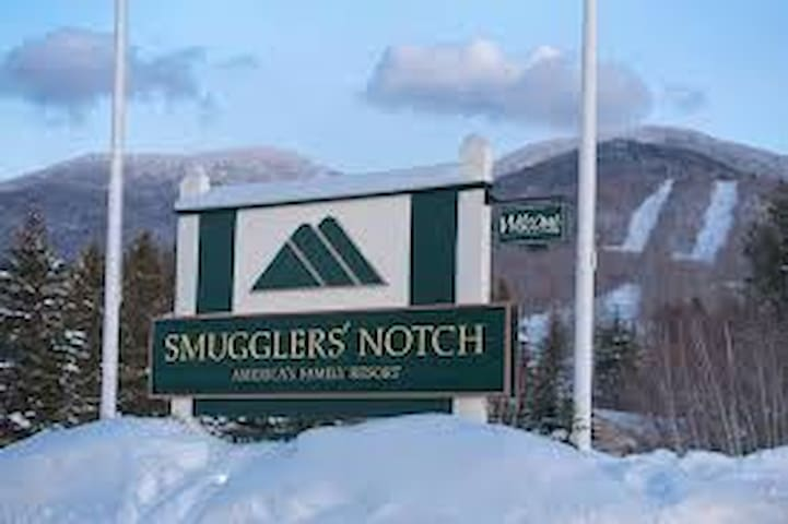 Smugglers Notch 2Bd/2Ba unit-Pres week 2020-4 nts