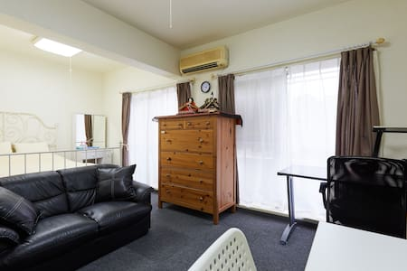 9min Shinagawa Sta./26㎡/quiete&cozy - Appartement