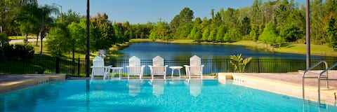 Spacious room*private bath*Disney*no resort fees