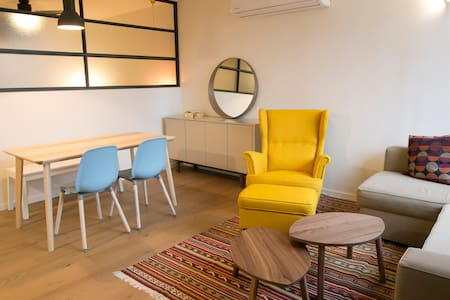 Stunning apartment  1 MINUTE WALK TO BEACH - Herzliya