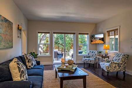 2 Br/2 Ba - Charming Cottage - Downtown Los Olivos - ลอสโอลิโวส