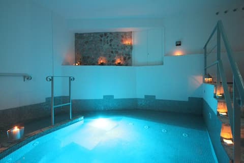 Apartment & Private SPA (sauna, hammam, hot tub)
