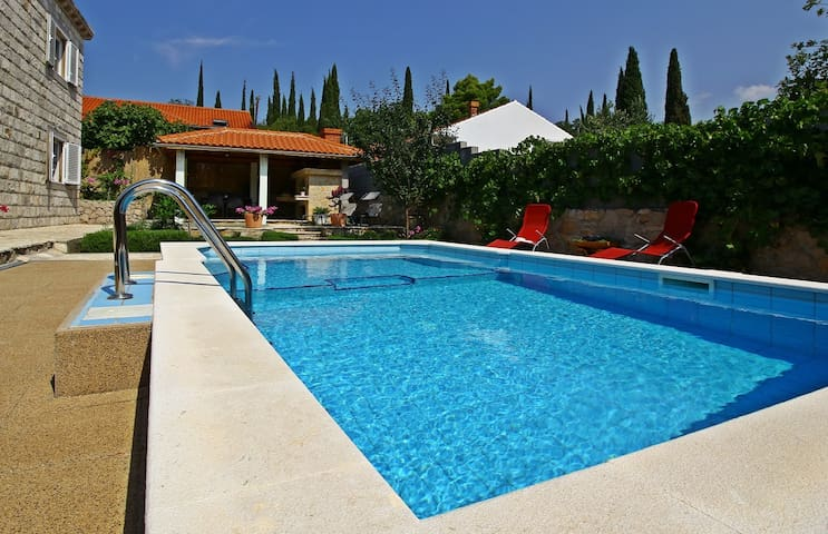 Paradise villa Dubrovnik with pool - Čilipi - House