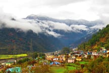 Matli, Winter 2019 (view from the homestay)