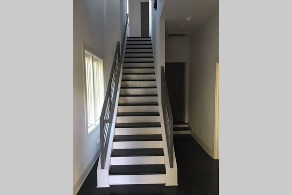Stairwell to floors 2 & 3