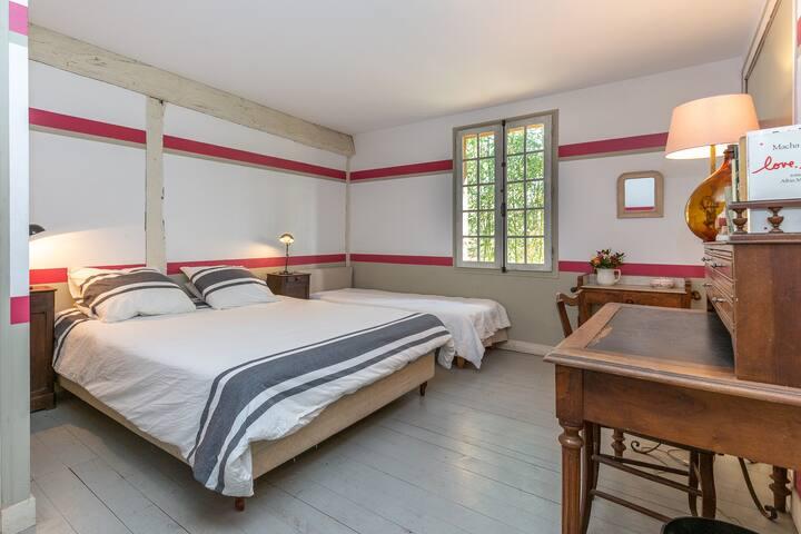 "Le Grand Yote 1810: triple room ""Chicama"""