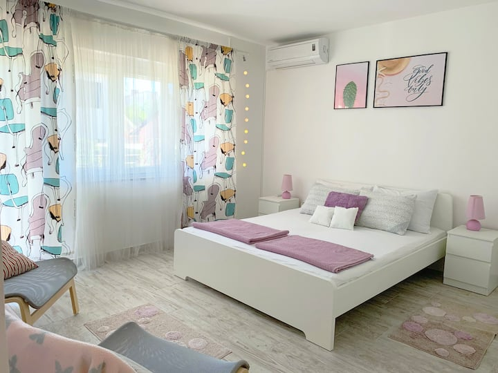 Garden view apartment-new, 6 persons, 2 balconies