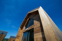 Exterior shot of the Bothy.