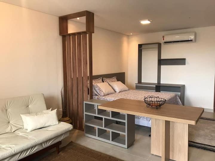 Lindo Apartamento Studio Novo na praia em Ubatuba
