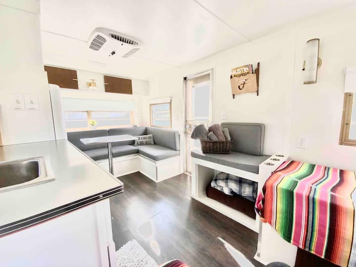 Hip East Side Trailer | Coffee | Austin Glamping