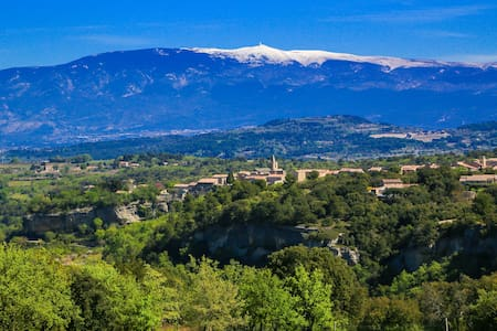 Guest room with view in Bastide from the 18th - Venasque - Гестхаус