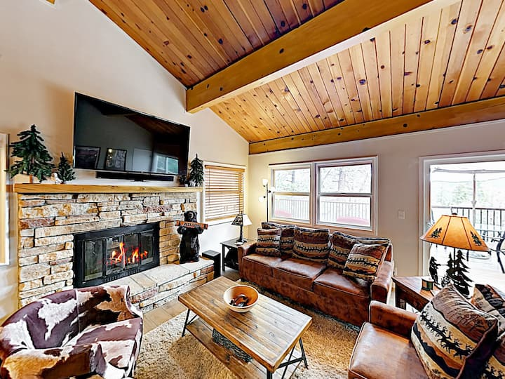 New Listing! Updated Cabin: Deck, Near Ski Resorts