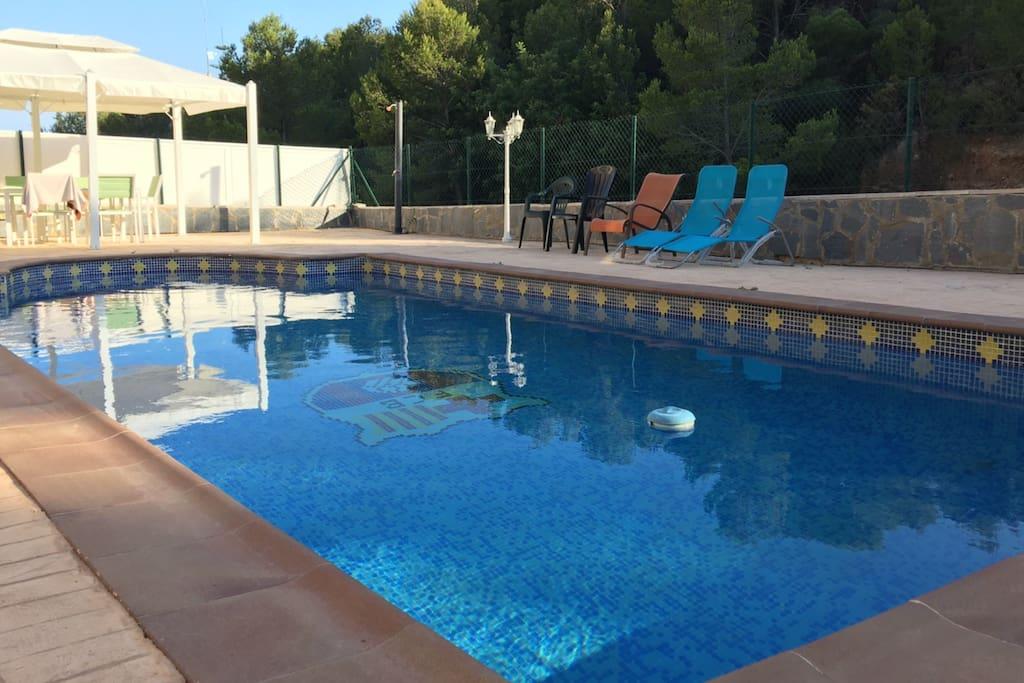 Casa vacacional con piscina privada casas en alquiler en for Casa con piscina privada alquiler