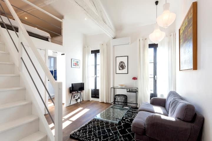 Splendide appartement climatisé et rénové GARE