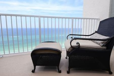 Wake up to beach front views - YES, please!  Open!