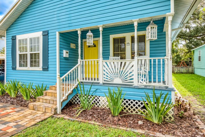 Stay Gia Cozy 3 Bedroom Bungalow Minutes To Downtown St Augustine