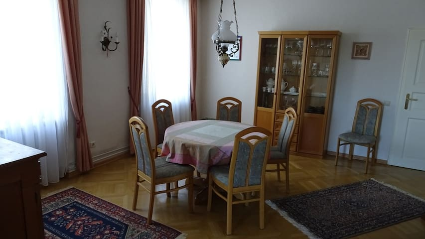 Gemütliche Wohnung vor den Toren Basels