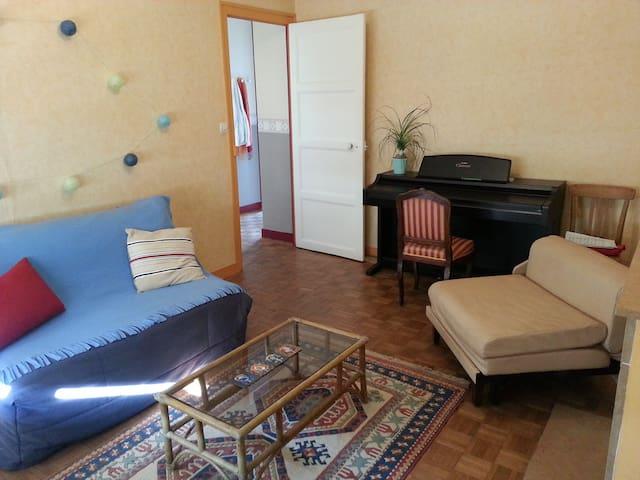 Chambre chez étudiantes sympas proche gare - Angers - Huoneisto