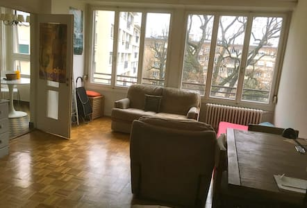 Cosy studio close to the lake & the city center - Genève - Lägenhet