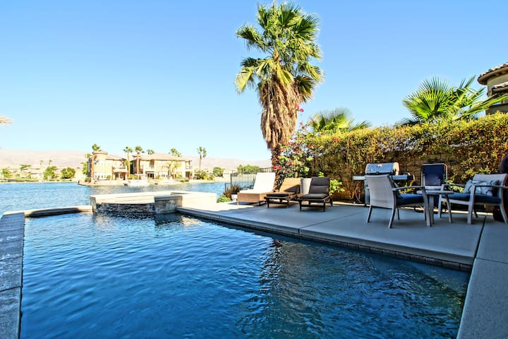 ON THE LAKE - Gem Private Pool - Dock - Spa - Indio - Casa