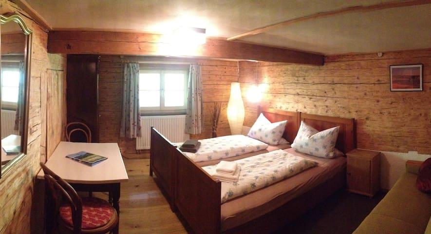 Bichl-Zimmer im Haus Noidach mit Küche