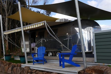 Glamping: Love is in the Airstream - Pennyroyal