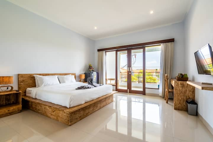 #B Unique 1BD Private 5 min to Canggu Beach Finns