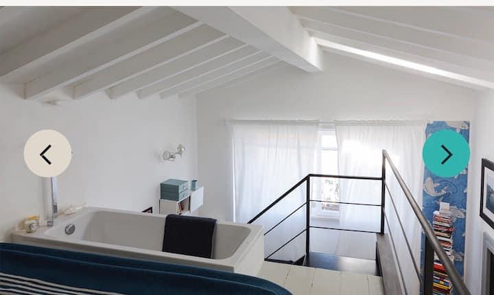 Loft design pubblicato su riviste architettura,