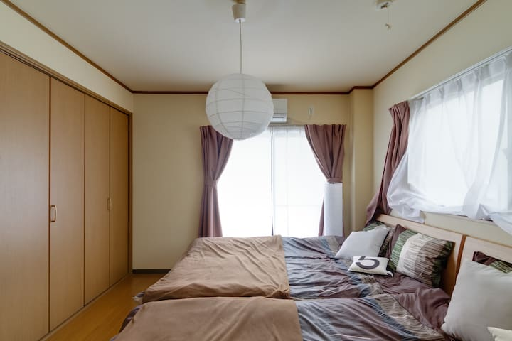 201★4people★close Station★Numba★USJ 15min!★wifi - Osaka-shi - Apartament