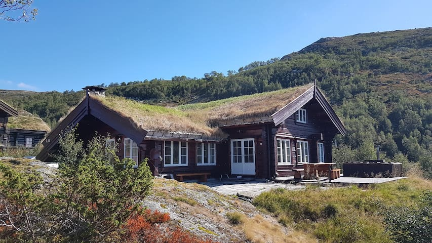 LOG CABIN for 16, Haukelifjell skisenter, 1000moh