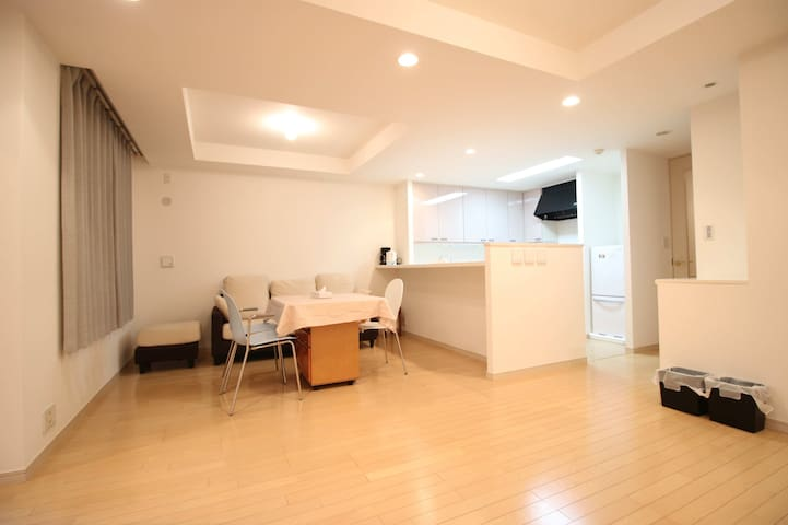NEW!!! Big House Nearby the Shinagawa. - Minato-ku - Leilighet