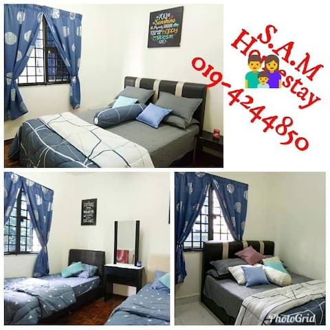S.A.M Homestay (Muslim apartment)