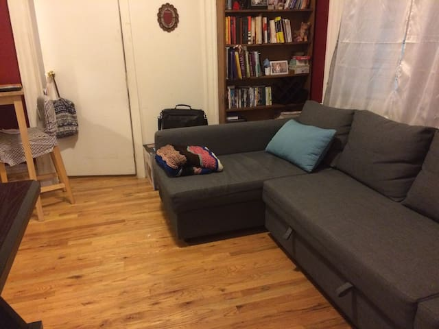 Nice private room in hip and trendy Brooklyn