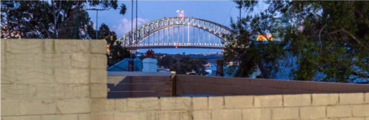Inner city oasis with stunning Bridge views