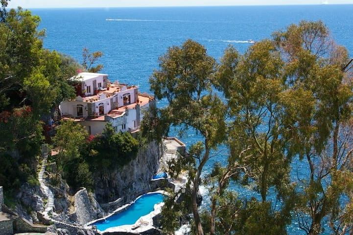 Amazing Villa on the AmalfiCoast - Cetara - Casa de campo