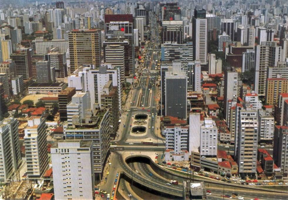 Panorama da Avenida Paulista