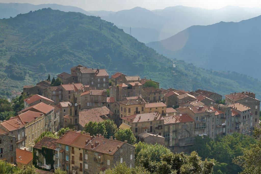 Le village de Ste Lucie de Tallano