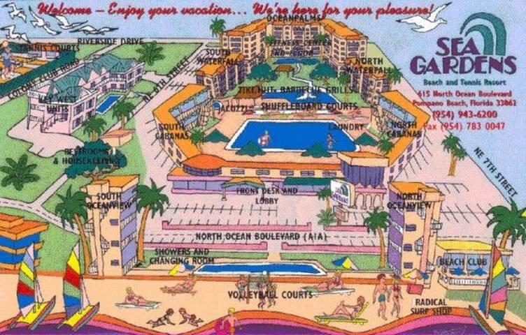 Beach Escape Grande - Pompano Beach - Condominio