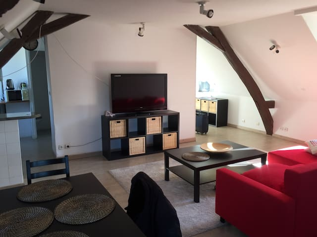 Appartement 58m2 Hyper Centre ville - Le Mans