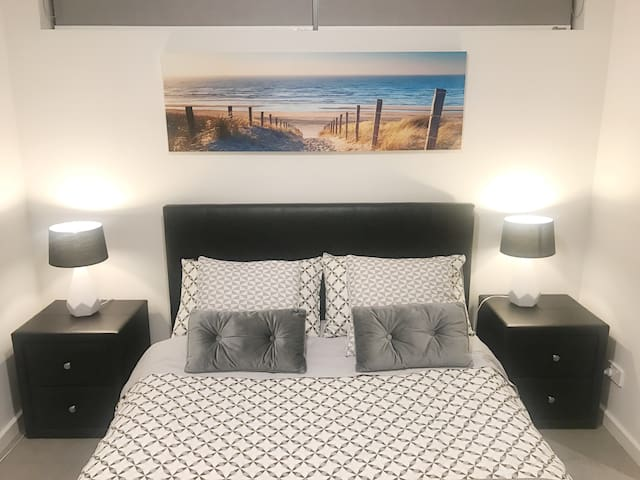 Third bedroom (one side is connected to the living without door) for easy disable access or while the kids are sleeping here, you can easily monitor them while you are cooking or in the living room relaxing
