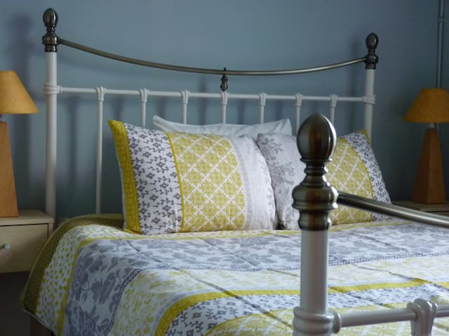 Charming Victorian Townhouse Bedroom