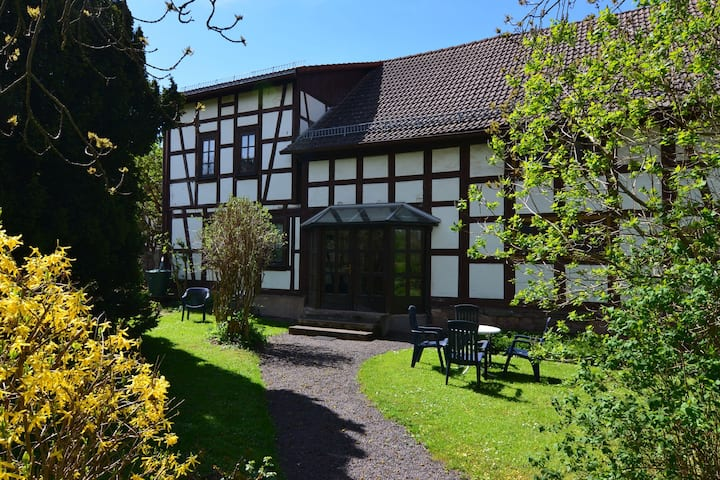 Comfortable Apartment in Tabarz Thuringia near Forest