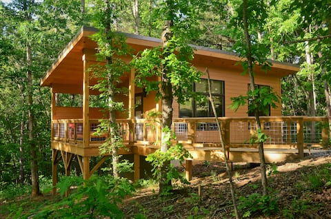 "Tiny ""Arrowhead"" cabin minutes from Asheville!"