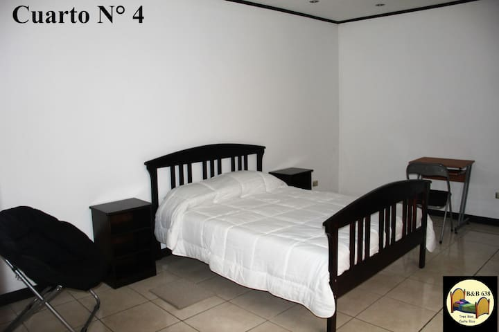 2 Rooms with breakfast, many areas for share.