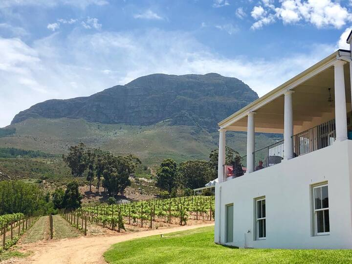 Self- Contained Flatlet on Working Wine Farm
