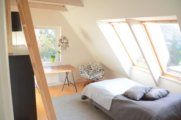 Private room close to forest, sea and Copenhagen2 - Nærum - 獨棟