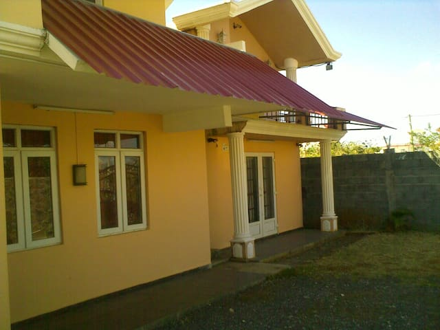 Welcome to our vacation house at Mont Choisy ( 1 minute drive from the beach)