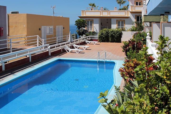 Acogedor apartamento con piscina cerca de la playa