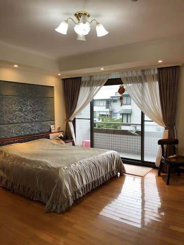 台北你的家-别墅主卧your home in Taipei
